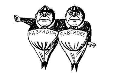 Faberdum and Faberdee: a story from the archive