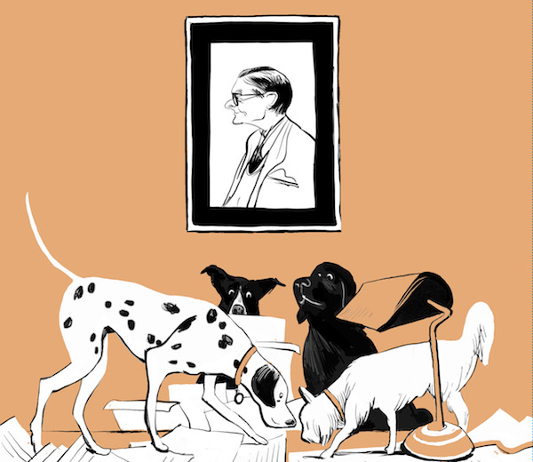 Faber announcesOld Toffer's Book ofConsequentialDogs