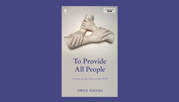 Faber to publish intimate story of the NHS by Owen Sheers