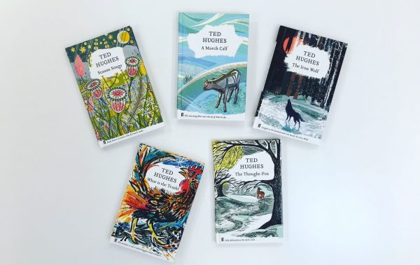 Cover Design: Ted Hughes' Nature Poems