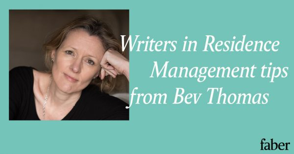 Writers in Residence | Management tips for lockdown from Bev Thomas