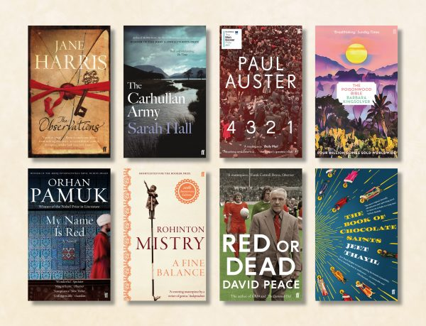 Long novels to lose yourself in