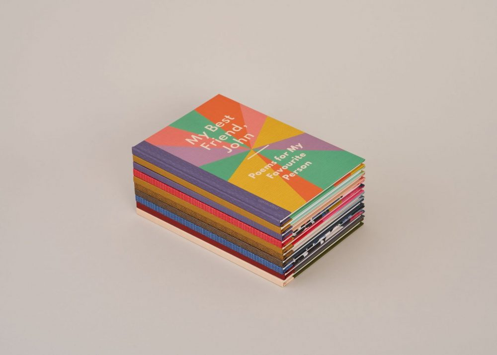 Picture of stack of Pagesmith poetry books