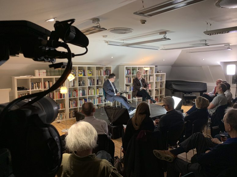 Members Event: Tom Stoppard and Patrick Marber with audience